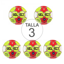 Pack 5 Balones Select Maxi Grip Autoadhesivo T3